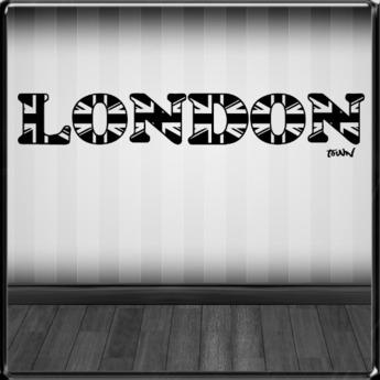 *~LT~* London  Wall Art Decal