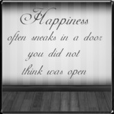 *~LT~* Happiness Wall Art Decal