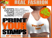 Print My Stamp top - Mesh rigged DEMO