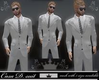 Casa (mesh) white Suit