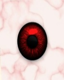 Realistic Eyes Red Demon