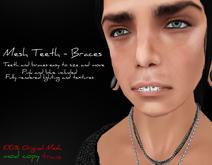 #Ziau# Mesh Teeth - Braces.