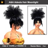 A&A Adeola Hair Moonlight. Wild curly high ponytail womens hairstyle. Promo price!
