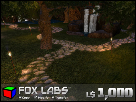 Rock Pathway Sculpt Pack - Full Permissions - Fox Labs - The Original