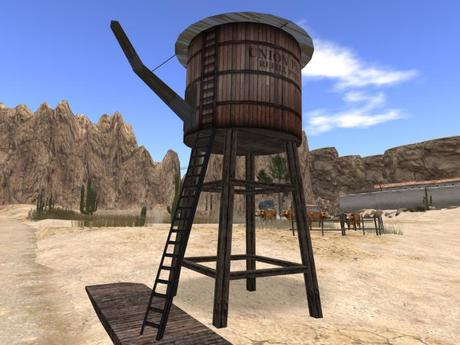 *Ghost Town Water Tower*