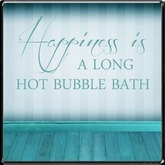 *~LT~* Bubble Bath Wall Art Decal