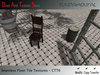 30 Distressed Ceramic Tile Textures, Formal Stone Tile Floor Tile, Bath and Kitchen floors Full Perm for Building CTT6