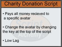 Script Alchemy - Charity Donation Script