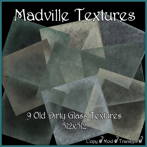 Madville Textures - Old Dirty Glass Textures