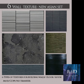 {{BSD Design Studio}} new asian wallpaper sets texture - 6 type