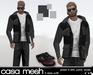 (Mesh)   dark camo  outfit