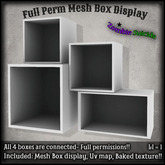 :Z.S: Full Perm Mesh Box Display Demo