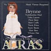 *Aura's* Brynne in Peach for Yabu & Toddleedoo