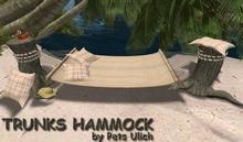 TRUNKS HAMMOCK - couple hammock - tiki - swinging - hamacs - tiki hammock