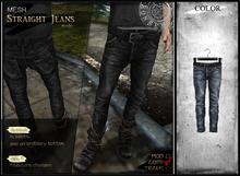 RONSEM* Straight Jeans / blue (male)