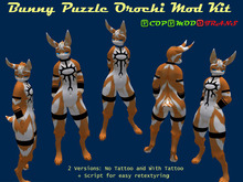 .:CD:. Orochi Mod Kit (Bunny Puzzle Male)