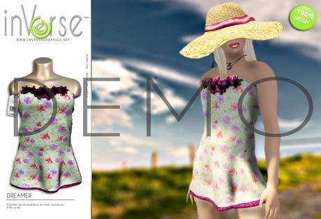 inVerse™ - Dreamer - rigged dress **DEMO**