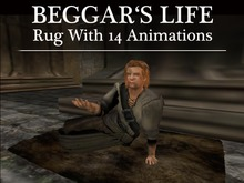 Beggar's Life Rug: A Must Have! Great RP item
