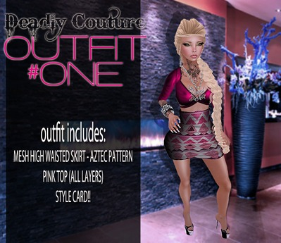 Outfit1 - Style Card Included!
