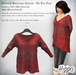 ((Hippo)) Bohemian Sweater - Dip Dye Pink