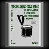 TS MARCHING SNARE  DRUM //LARGE