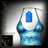 CCD Shirt Twirl Turquoise