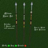 African Spear Set