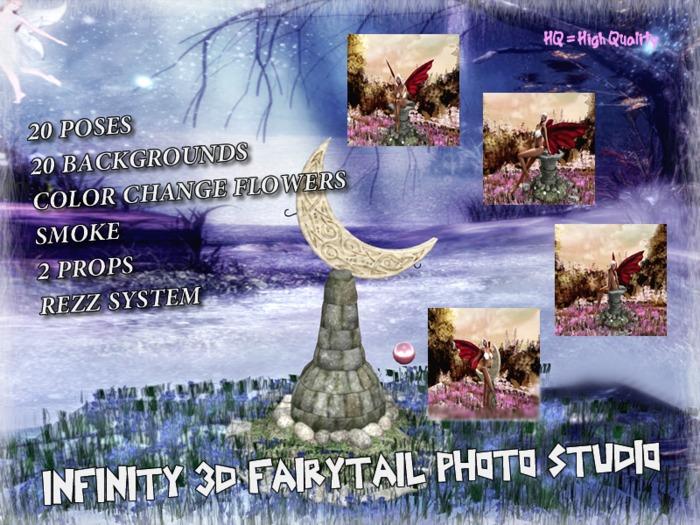 INFINITY 3D FairyTail Photo Studio