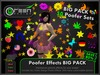 ●GD● Poofer Effects BIG PACK [All 52 Sets! Multi Color, Many Settings] Customizable Particle Emitter Poof Effects