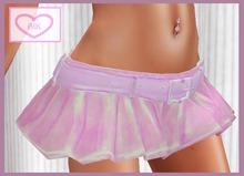 *AIK* Meshy Mini Skirt [Sakura]