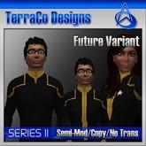 Starfleet Future Variant Uniform Gold