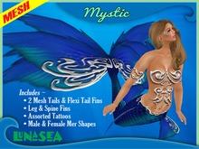 =LunaSea= Mermaid & Merman Tail - Mystic