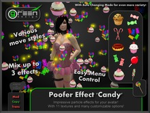 ●GD● Poofer Effect 'Candy' [Multi Color, Many Settings] Customizable Particle Emitter Poof Effects