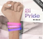 Mad' - Bi Pride - WristBands