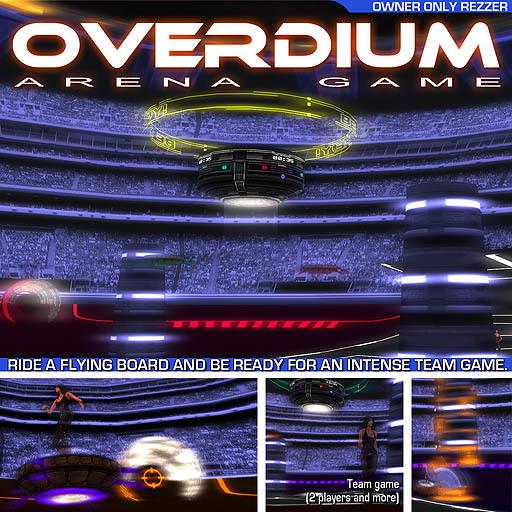Overdium - Arena Game