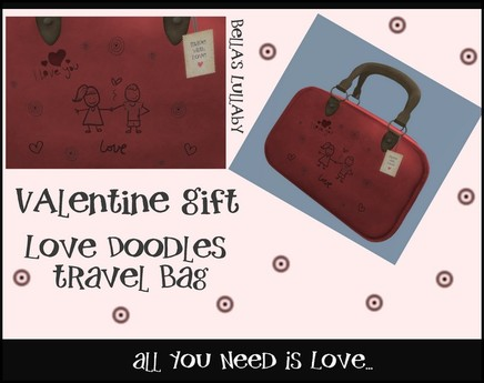 Bella's Lullaby/Valentine Gift 2012- MESH Travel Bag