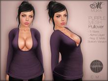 *MUKA* Pullover Purple (MESH)