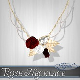 ::: Krystal ::: Rose Necklace