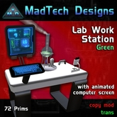 MTD Lab Work Station Green*BOXED*