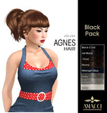 Amacci Hair ~ Agnes - Black Pack