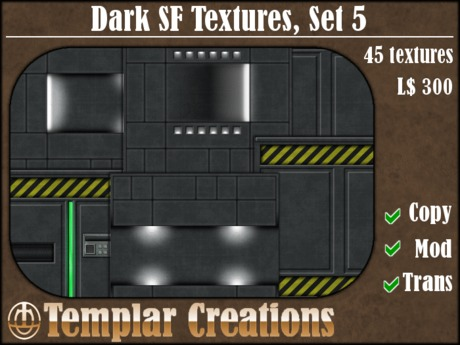 Dark SF Textures - Set 5