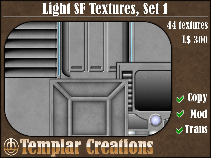 Light SF Textures - Set 1