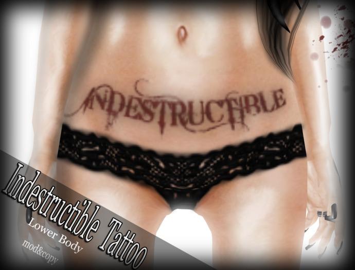 Corvus : Indestructible Tattoo Bom