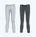 Low rise skinny jeans cuffed uv