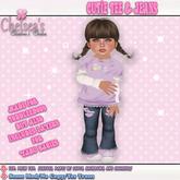 CCC Cutie Tee & Jeans - Fits Toddleedoo or Yabusaka