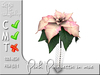 Terrashop - Pink Poinsettia in vase              100% original mesh