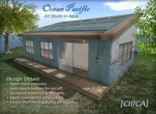 """[CIRCA] - """"Ocean Pacific"""" Art Studio - Aqua"""