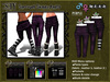 :SEY Sarrouel-Skinny_Pants-D [purple]