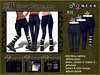 :SEY Sarrouel-Skinny_Pants-E [blue]