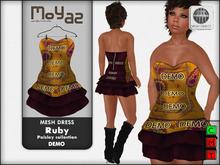 Ruby Mesh Dress - DEMO